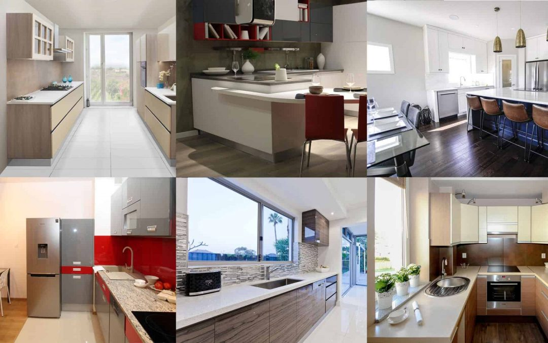 Your Kitchen Layouts Guide: What are the 6 types of kitchen layouts