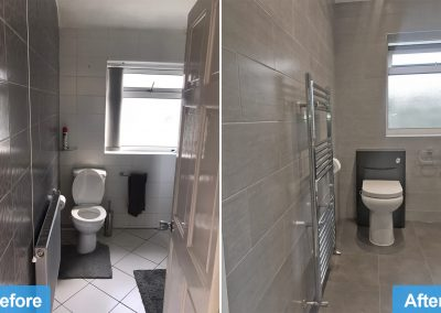 Bathroom Renovation in Leicester - Before After images