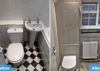 Supply and Fit of a Bathroom for Elderly in Thurmaston, Leicester