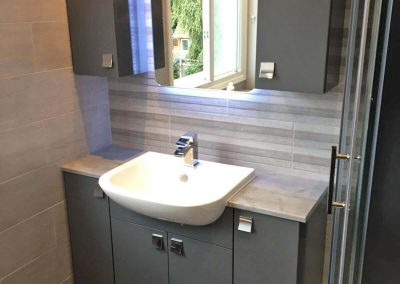 Bathroom Fitting Project completed in Kirby Muxloe LE9, Leicester by Bath Barn