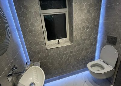 Luxury Bathroom fitted in Leicester by Bath Barn