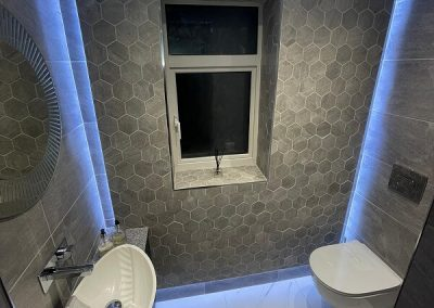 Remodeled bathroom in Leicester