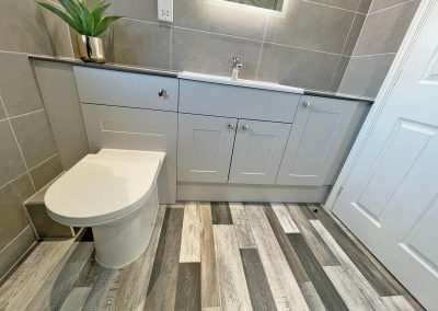 En Suite Bathroom Fitted in Leicester by Bath Barn Bathroom Fitters