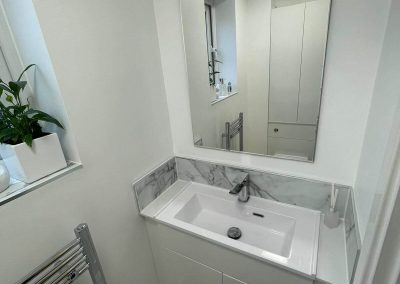 Bathroom installation in Cloarkroom Birstall Leicester