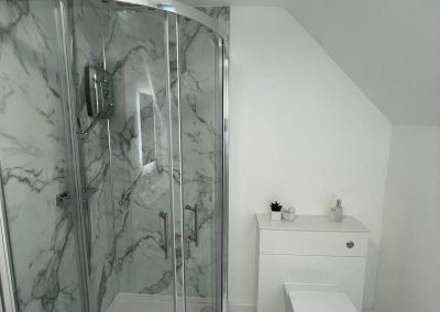 Bathroom Fitters in Leicester installed an En-Suite